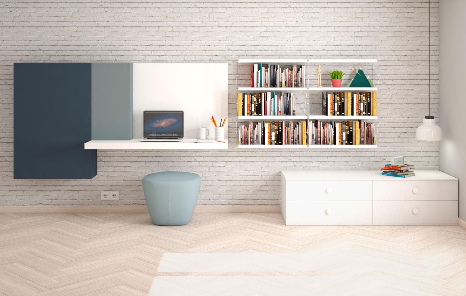 Fábrica de muebles de calidad y diseño. Dormitorios juveniles, armarios, vestidores, zonas de estudio y muebles a medida.